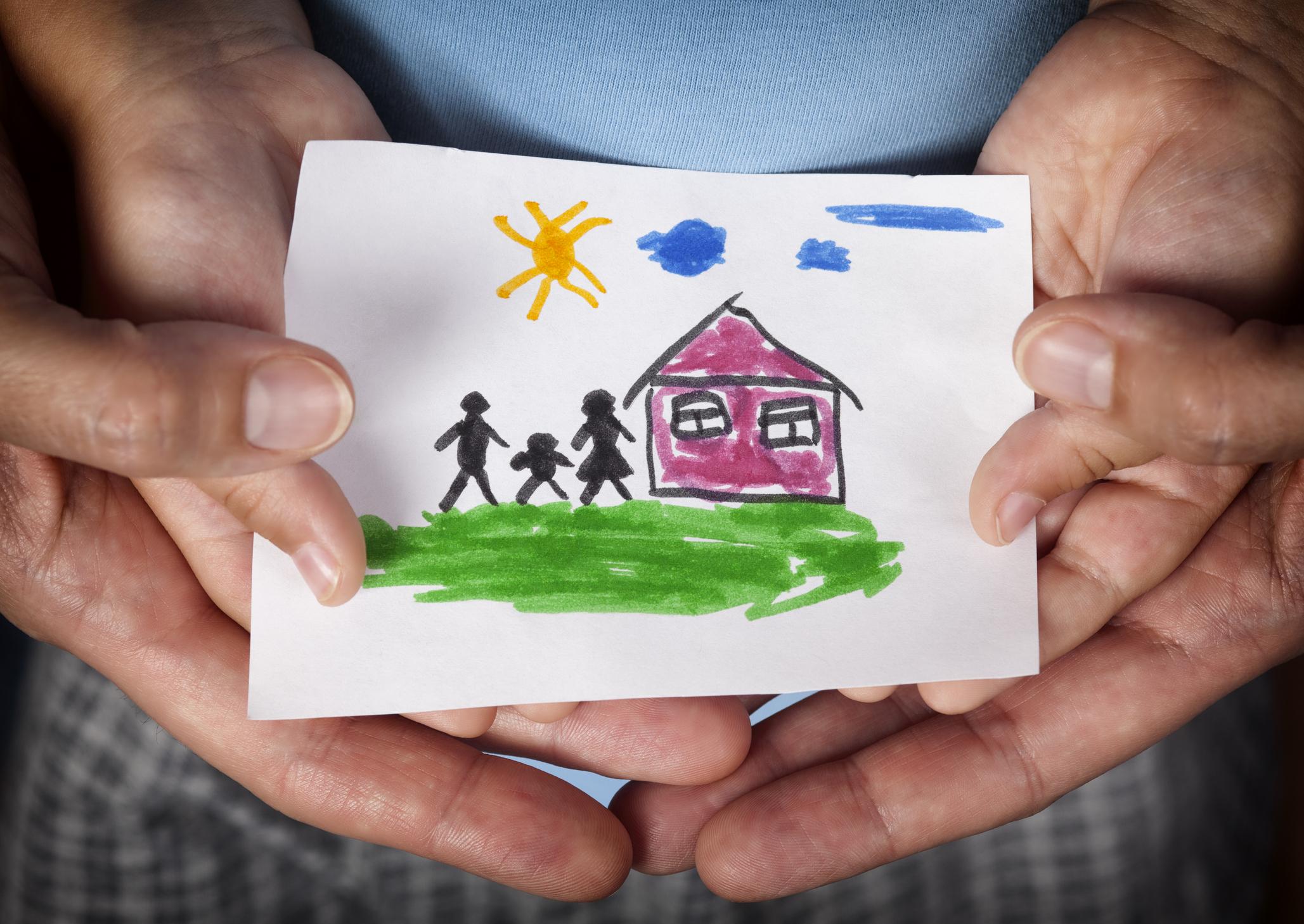 Legge til et adoptert barn til et familietre